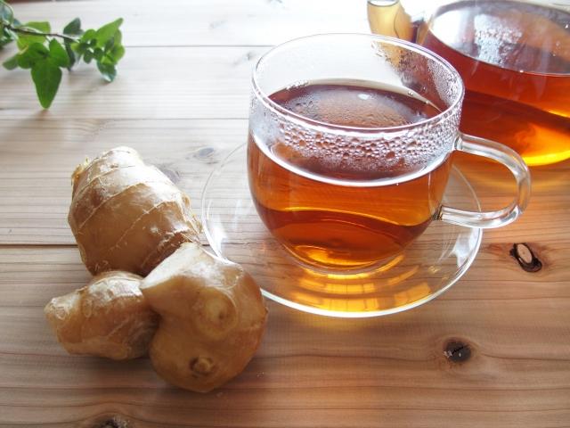 生姜紅茶 痩せる