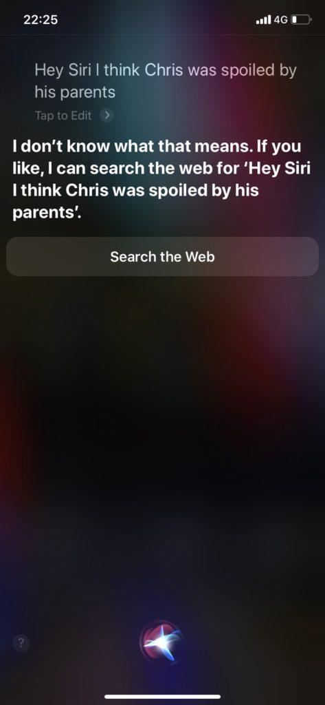 Siri 英会話