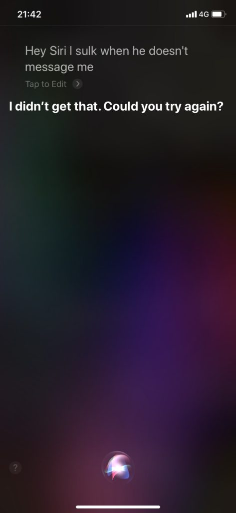 Siriと英語で話す