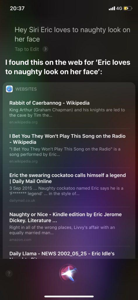 Siriと英会話 エロい