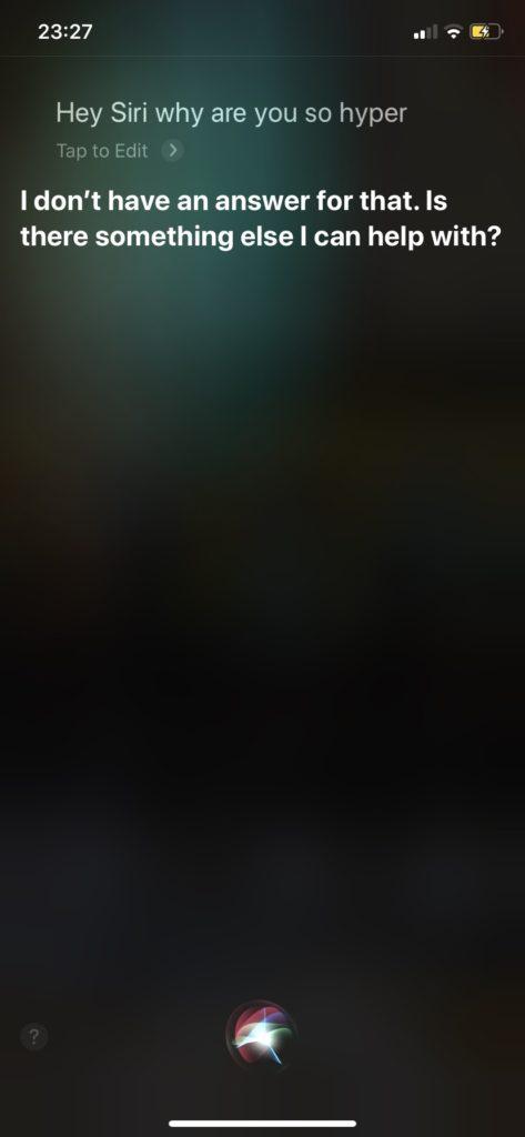 Siriと英会話