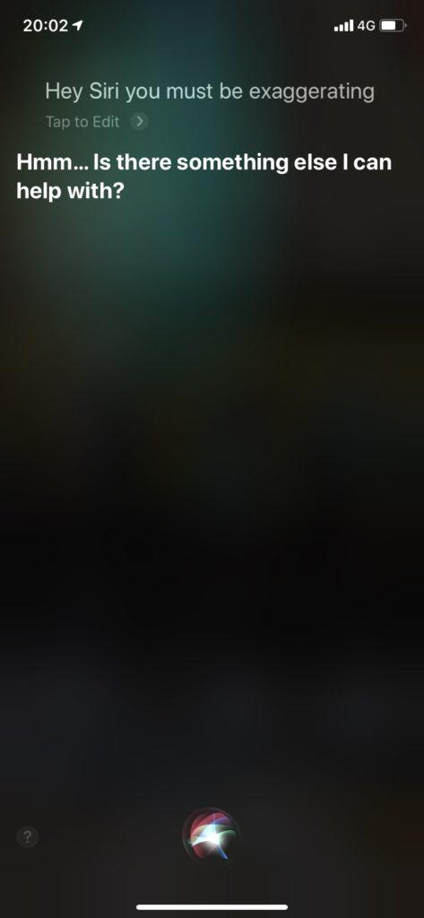 Siri会話 英語 おもしろい
