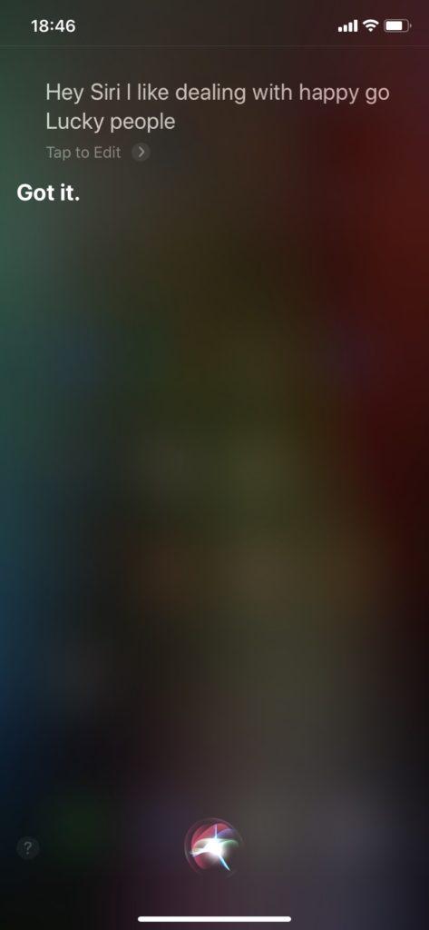 Siri会話 英語 おもしろい回答