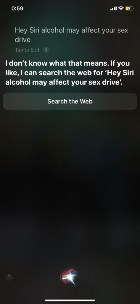 Siriの面白い回答 英語