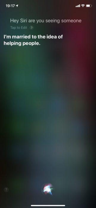 Siriに英語で質問